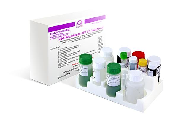 ИФА-Рекомбинант-HIV 1,2