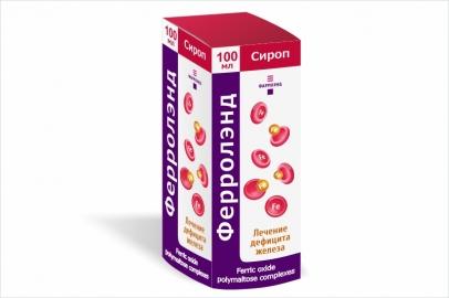 Ферролэнд, сироп 10 мг/мл