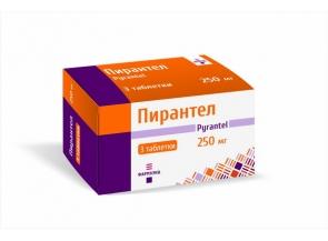 Пирантел 250 мг №6, таблетки